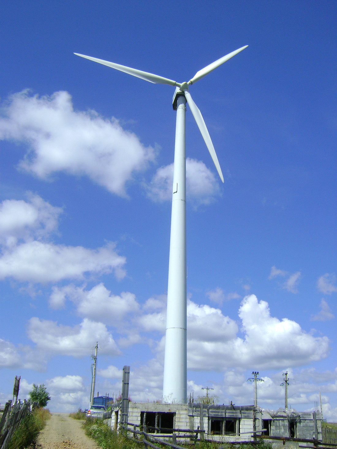 Tihuta Pass wind turbine
